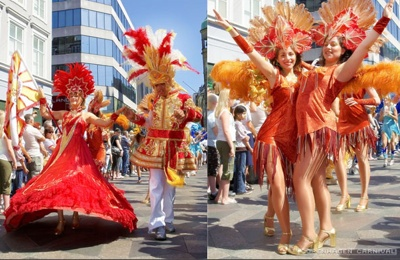 Copenhagen Karneval im Mai