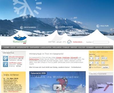 Kaiserwinkl in Tirol