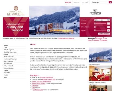 Hotel Royal Spa Kitzbühel